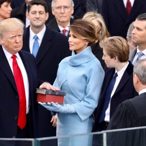White House photo of President Donald Trump's January 20, 2017, inauguration