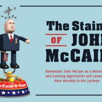 The Stains of John McCain opening illustration by Richard Borge
