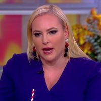 screenshot of Meghan McCain on the November 21, 2018, broadcast of ABC's 'The View'
