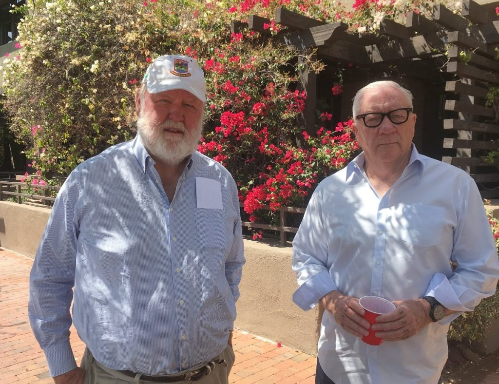 Photo of Jim Larkin and Michael LaceyLacey, Larkin